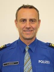 Oliver Schürch, Chef Bereitsschafts- und Verkehrspolizei Uri. PD