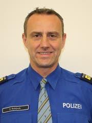 Oliver Schürch, Chef Bereitsschafts- und Verkehrspolizei Uri