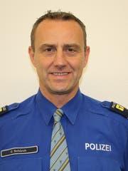 Oliver Schürch, Chef der Bereitschafts- und Verkehrspolizei Ur. (Bild: PD)