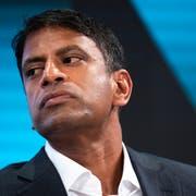 Ihm droht Ärger aus den USA: Novartis-Chef Vasant Narasimhan (Bild: Keystone)