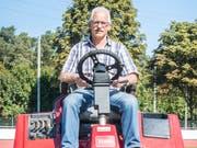 Werner «Beppo» betreute über 30 Jahre die Sportanlage Kleine Allmend in Frauenfeld und geht Ende September in Pension. (Bild: Andrea Stalder)