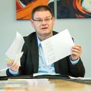 René Zweifel hat angeboten als Schulpräsident von Kreuzlingen zurückzutreten. (Bild: Reto Martin)