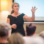 Vortrag zum Thema Der Gläserne Mensch des Frauennetzes Gossau, am Mittwoch, 20. Juni 2018, in Gossau. ©Benjamin Manser / TAGBLATT