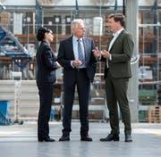 Das Führungsteam der Forster Swiss Home AG: Ipek Demirtas (CEO), Heinz Baumgarten (COO) und Ansgar Igelbrink (CSO). (PD)