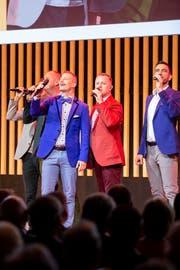 Das A-Cappella-Quintett Bliss bietet Unterhaltung mit Lokalkolorit.