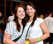 Jasmin Jost und Tatjana Schenk feiern am Pfingstfest, freuen sich aber schon jetzt auf die erste Rollschuhparty in Sonterswil.