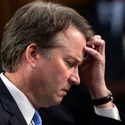 Brett Kavanaugh sieht sich dem Vorwurf der versuchten Vergewaltigung ausgesetzt. (AP Photo/J. Scott Applewhite/AP; Washington, 6. September 2018)