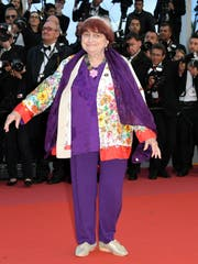Agnès Varda am Filmfestival in Cannes. (Bild: Clemens Bilan/EPA, 14. Mai 2018)