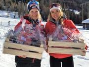 Stefanie Arnold (links) und Maria Christen wiesen beim Gommerlauf 2019 die Konkurrenz in die Schranken. (Bild: PD)