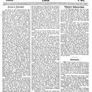 Eine Ausgabe der Zuger Zeitung vom 9. Mai 1868. Bild: PD
