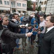 Der Fall Walker wurde zum Medienmagnet. (Bild: Pius Amrein)