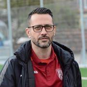 Der 41-jährige Emilio Gesteiro bei seinem letzten Einsatz als Trainer des FC Bazenheid. Er betreute die Alttoggenburger während lediglich fünf Spielen. (Bild: Beat Lanzendorfer)