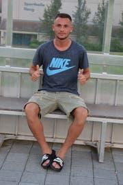 Beim FC Bazenheid auf dem Sportplatz Ifang hat die Karriere von Lavdim Zumberi begonnen. Heute gehört der 19-Jährige dem Kader des FC Zürich an. (Bild: Beat Lanzendorfer)