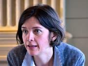 Bettina Surber, Mitglied des Streikkomitees und Co-Fraktionspräsidentin der St.Galler SP (Bild:Regina Kühne)
