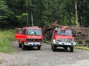 Die Sennwalder Feuerwehr wäre für einen Waldbrand-Einsatz vorbereitet gewesen. (Bild: PD)
