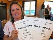 Monika Lehner aus Braunau punktete mit Aprikosen- und Beerenlikören.
