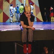 Fabian von Mentlen kann als «Pippin» im gleichnamigen Musical anfangs Jahr einen Grosserfolg feiern. (Bild: Mathias Arnold, Altdorf, 3. Januar 2018)