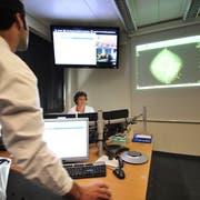 Vor dem Start des Thurgauer Mammografie-Programms: Blick ins Brustzentrum am Kantonsspital Frauenfeld. (Bild: Hanspeter Schiess, 19.10.2010)