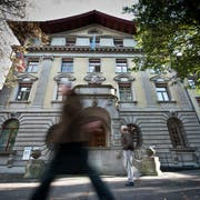 Das Luzerner Stadthaus. (Bild: Boris Bürgisser (14. Juli 2014))