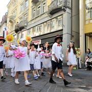 Heute vor drei Jahren hat alles gepasst: Am 12.Juni 2015 fand das Kinderfest statt. (Bild: Donato Caspari)