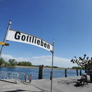 Die Schiffsanlegestelle in Gottlieben. (Bild: Nana do Carmo)