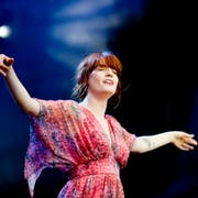 2012 stand Florence Welch von Florence & the Machine bereits im Sittertobel auf der Bühne. (Archivbild: Coralie Wenger)