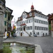 Das Rathaus in Sarnen. (Bild: Corinne Glanzmann)