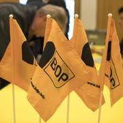 Schafft es die BDP, mit ihren Nationalratsmandaten weiterhin eine eigene Fraktion zu bilden? (Bild: Georgios Kefalas/Keystone)