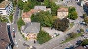 Das Areal am Platztor in St.Gallen, auf das der neue Campus der Universität zu stehen kommen sollen. (Bild: Urs Bucher - 28. August 2018)