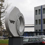 Die VAT führt wegen einer vorübergehenden Abschwächung auf einigen Absatzmärkten für rund 400 Produktionsmitarbeiter in Haag Kurzarbeit ein. (Bild: Heini Schwendener)