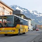 Die Robert-Durrer-Strasse. (Bild: Matthias Piazza (Stans, 29. Januar 2014))