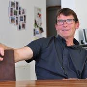 Der Thurgauer EDU-Präsident Hans Trachsel spricht bei sich zu Hause über den kommenden Wahlherbst. (Bild: Silvan Meile)