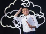 Jack Ma an einer Philanthropie-Konferenz in der chinesischen Stadt Hangzhou. Bild: Getty (5. September 2018)