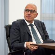 Ex-Raiffeisen-Chef Pierin Vincenz. (Bild: Gian Ehrenzeller/Keystone, St. Gallen, 27. Februar 2015)