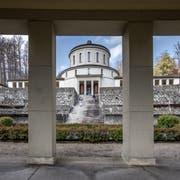 Der Architekt Albert Froelich hat den Kuppelbau in den Jahren 1922 - 1926 erbaut. Bild: Pius Amrein (Luzern, 15. April 2019)