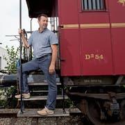 Stellt die Weichen für die Zukunft: Martin Ulrich, neuer Verwaltungsratspräsident der Sursee-Triengen-Bahn AG. (Bild: Corinne Glanzmann (Triengen, 6. August 2018))