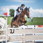 Die Pferdesporttage Gossau finden in diesem Jahr zum fünften Mal auf der Sommersweid der Familie Rutz statt. Bild: Ralph Ribi (15. Juli 2018)
