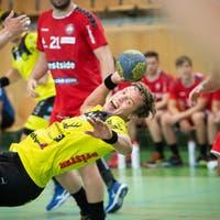 Der erste Schritt von St. Otmars NLA-Handballern auf dem Weg in den Cupfinal