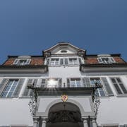 Das Obwaldner Rathaus. (Bild: Pius Amrein, Sarnen, 28. März 2019)