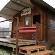 Bei Beeren Troxler in Goldach konnten Kunden schon im vergangenen Sommer mit «Twint» bezahlen. (Bild: Martin Rechsteiner)