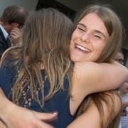 Die jungen Berufsleute erhielten viel Applaus. (Bild: André A.Niederberger (Stans, 6.Juli 2018))