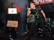 Dunkelsucht», das sind Patrick Näf (rechts) und Tim Lindner. Synthpop, Gothic, Industrial und etwas Rammstein.