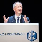 Jens Alder, seit diesem Frühjahr Verwaltungsratspräsident von Schmolz+Bickenbach. (Bild: Alexandra Wey/Keystone, Luzern, 30. April 2019)