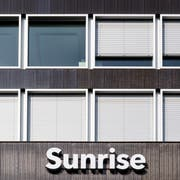 Sunrise übernimmt UPC. (Bild: KEYSTONE/Ennio Leanza)