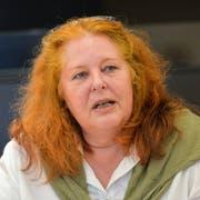 Frauenfeld TG , 04.06.2018 / Jahres-PK der SP Thurgau (das rote Präsidialjahr 2018) . Sonja Wiesmann,