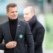 Der Sportchef des FC St. Gallen, Alain Sutter, bleibt den Espen für weitere zwei Jahren erhalten. (Bild: Benjamin Manser)
