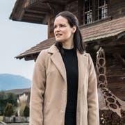 Früher Sozialvorsteherin, nun Gemeindepräsidentin von Wikon: Michaela Tschuor (CVP). (Bild: Nadia Schärli, Wikon, 21. Januar 2019)