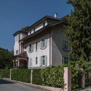 Die «Casa d'Italia» an der Obergrundstrasse 92 in Luzern. (Bild: Pius Amrein, 12. April 2017)