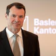 Guy Lachappelle, CEO der Basler Kantonalbank. Bild: Georgios Kefalas/Keystone (Basel, 1. März 2018)
