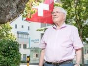 SVP-Doyen Christoph Blocher in Männedorf: «Aber an der Unabhängigkeit, am Selbstbestimmungsrecht, an der direkten Demokratie und am Föderalismus gibt es nichts zu rütteln.» (Bild: Sandra Ardizzone)
